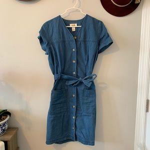 Vintage Talbots Denim Dress